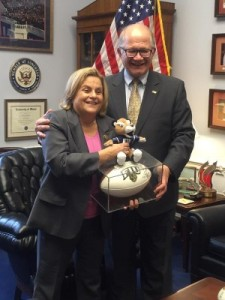 President Rosenberg and Congresswoman Ileana Ros-Lehtinen